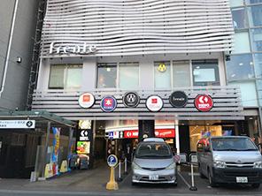 駅ビル((駅直結)約696m/徒歩8分)