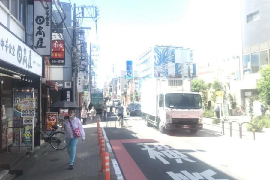 商店街(約100m/徒歩2分)