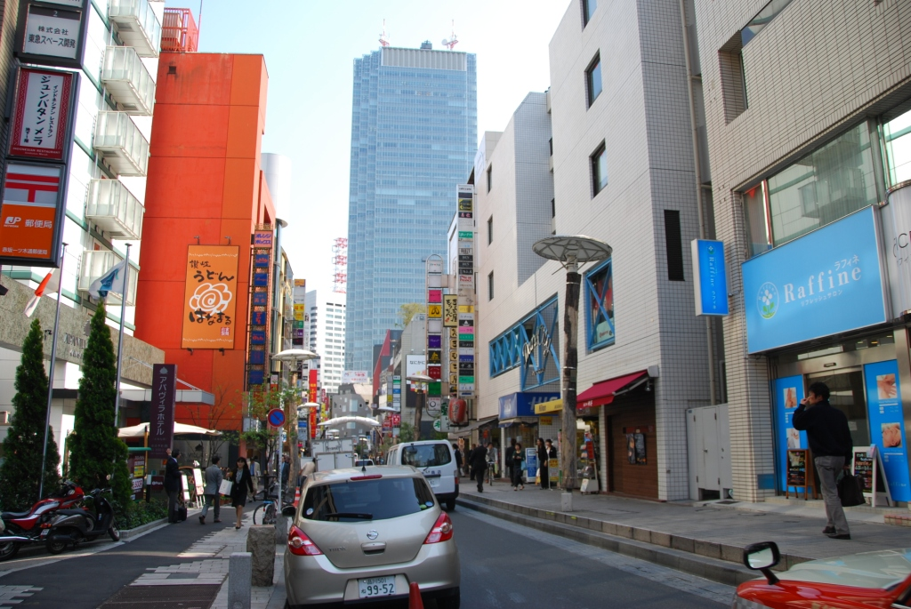 赤坂一ツ木通り商店街(約500m/徒歩7分)